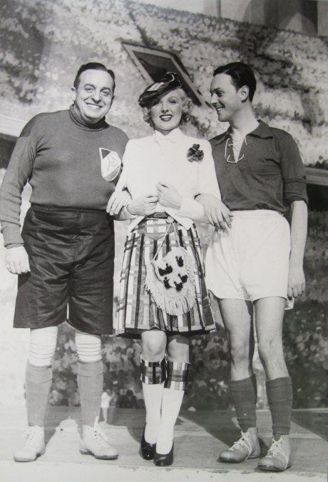 "The original Viennese ""Roxy"" team: Oscar Denes (l.), Rosy Barsony, and Hans Holt. (Photo: ORCA)"
