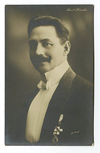 The dashing young composer Paul Lincke.