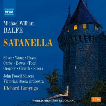 "CD cover ""Satanella"" by Michael William Balfe."