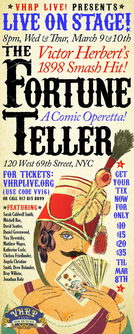 """Victor Herbert's """"The Fortune Teller"""" Back In New York"""