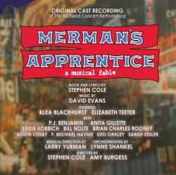 "CD cover ""Merman's Apprentice."""