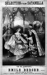 "Selections from Balfe's opera ""Satanella."""
