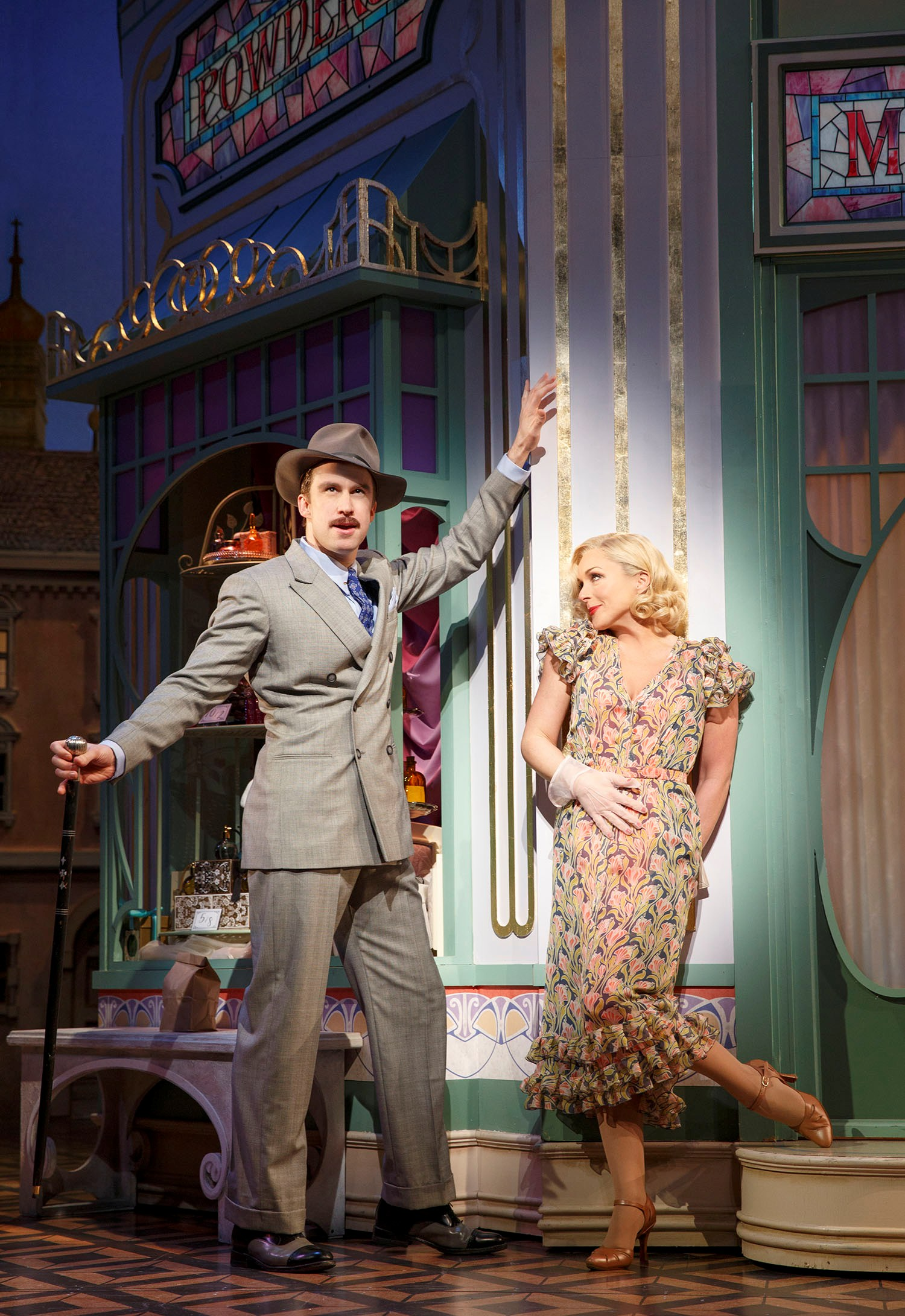 "Gavin Creel and Jane Krakowski in ""She Loves Me."" (Photo: Joan Marcus)"