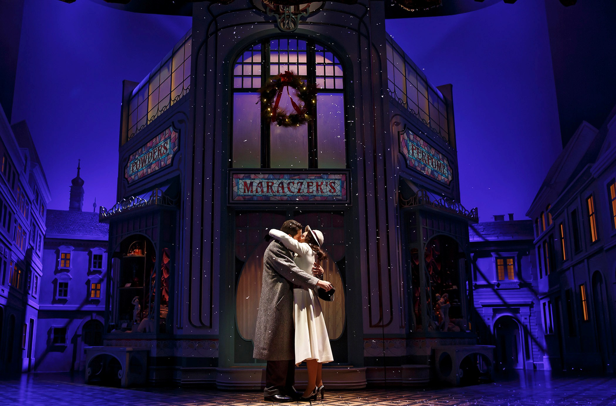 "Zachary Levi and Laura Benanti in ""She Loves Me."" (Photo: Joan Marcus)"