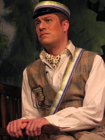 "Philip Lüsebrink as Richard in ""Schwarzwaldmädel."" (Photo: Private)"