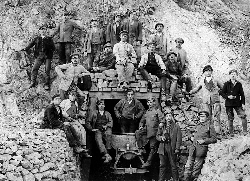 Miners in Germany, 1920.