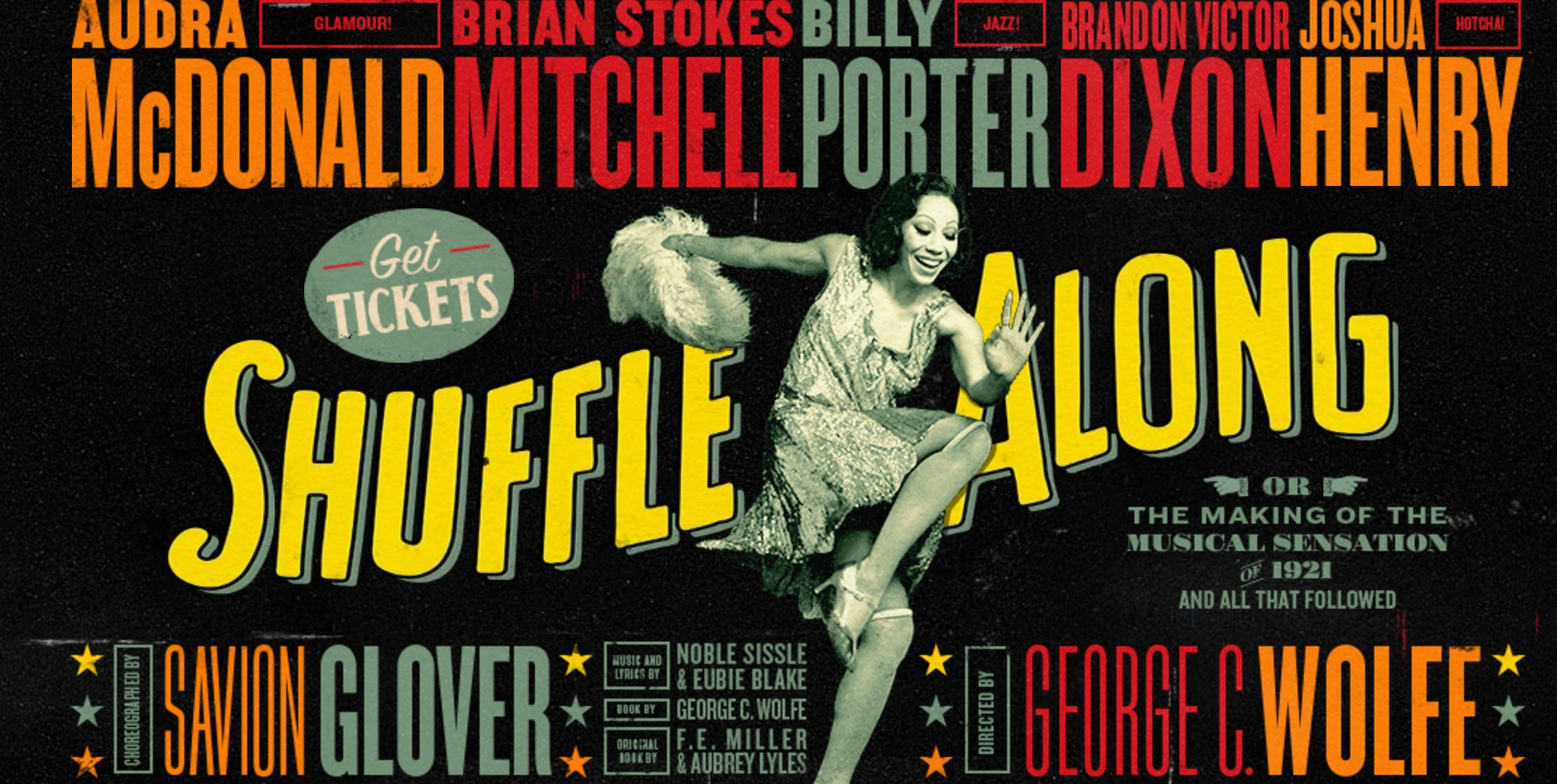 "The 2016 poster for the revival of ""Shuffle Along."""