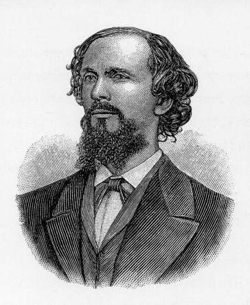 """Karl Heinrich Ulrichs, as seen in the """"Jahrbuch für sexuelle Zwischenstufen,"""" 1899."""