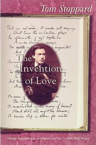 "Cover for the print version of Stoppard's ""The Invention of Love."""