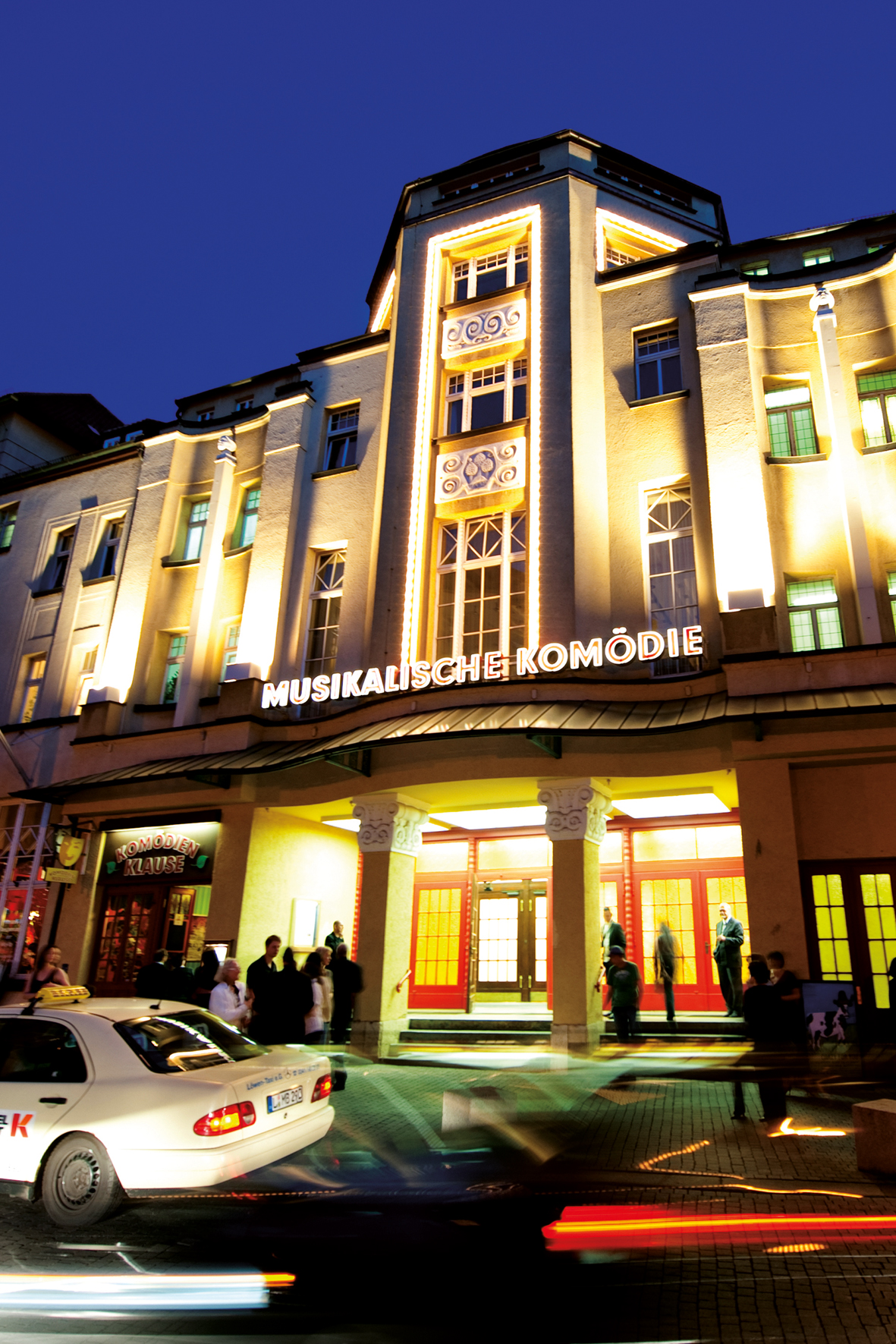 The Musikalische Komödie in Leipzig. (Photo: Dirk Brzoska)
