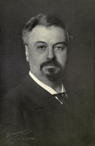 "Portrait of Oscar Hammerstein I, from ""Who's Who on the Stage,"" 1906."