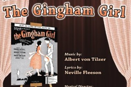 "Albert von Tilzer's ""The Gingham Girl"": A New Cast Album"