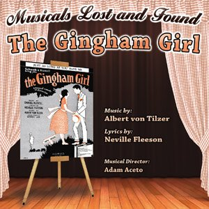 "The 2016 CD cover for ""The Gingham Girl."""