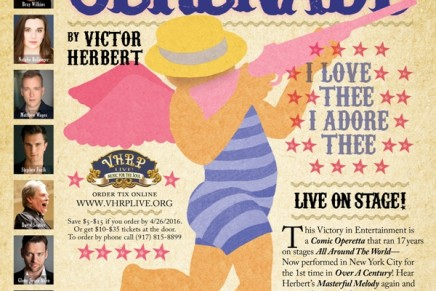 "Victor Herbert's ""Serenade"" (1897) Returns To New York"