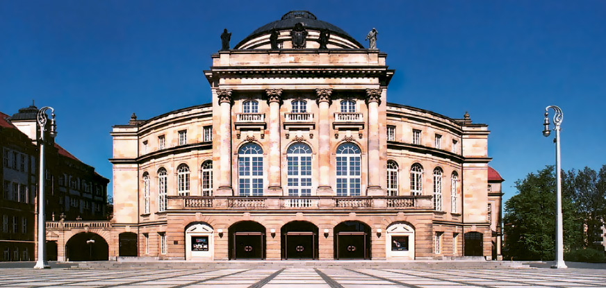 The opera house in Chemnitz. (Photo: Oper Chemnitz)
