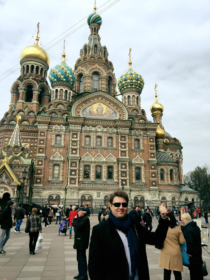 Zsolt Vadász in Russia. (Photo: Private)
