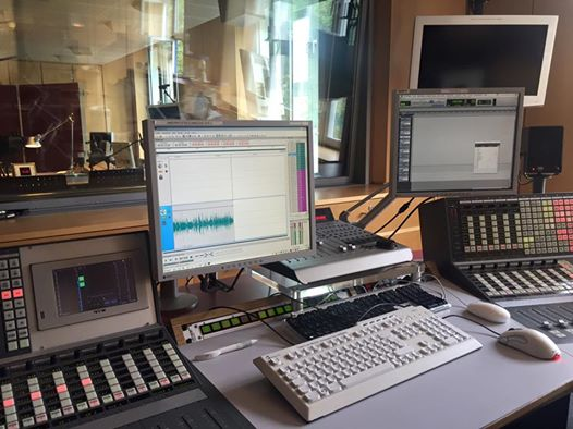 The Deutschlandradio studio in Berlin. (Photo: Uwe Friedrich)