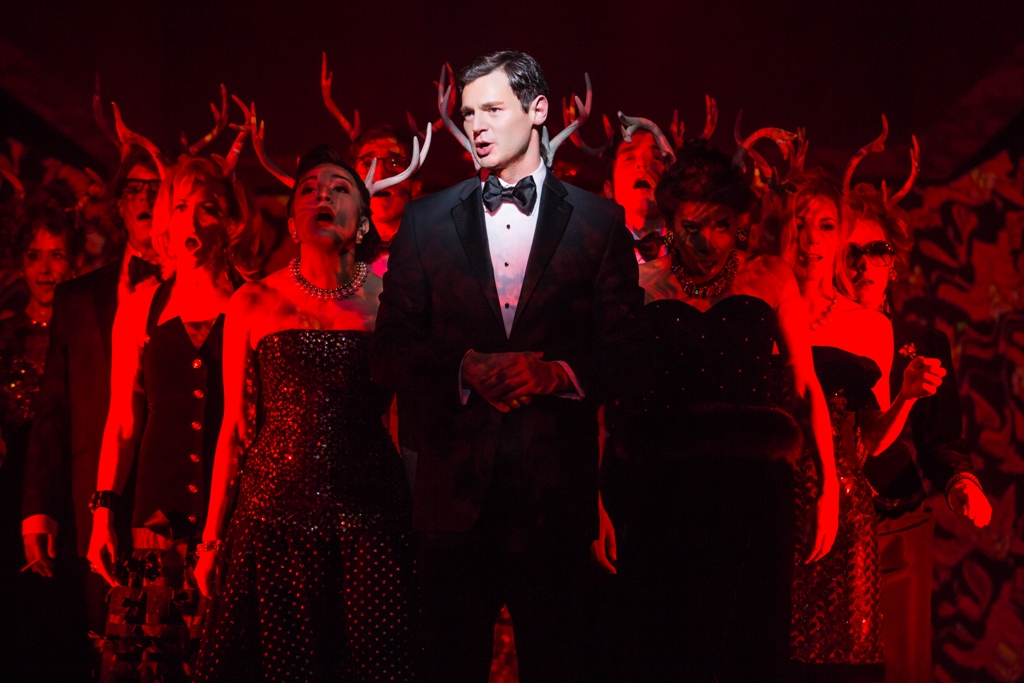 "Benjamin Walker in ""American Psycho"". (Photo: Jeremy Daniel)"