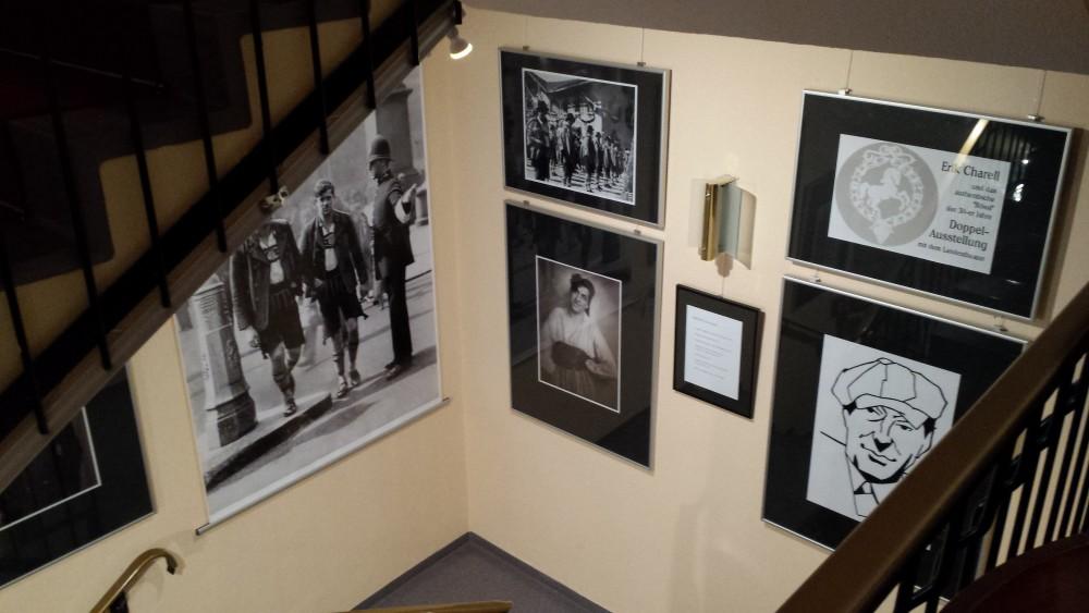 The Erik Charell exhibition on Neustrelitz, in Jürgen Hasse's hotel.