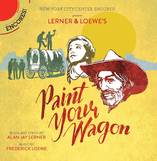 "Cover for the new CD version of ""Paint Your Wagon"". (Ghostlight Records)"