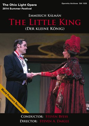 "DVD cover for Kálmán's ""The Little King"" from Ohio."