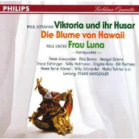 """The Franz Marszalek version of """"Viktoria und ihr Husar"""" with Peter Alexander."""