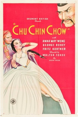 """Chu Chin Chow"" movie poster, 1934."