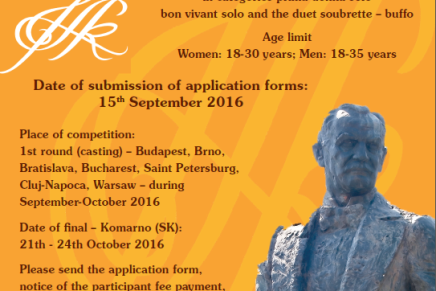 International Operetta Singing Competition of Franz Lehár