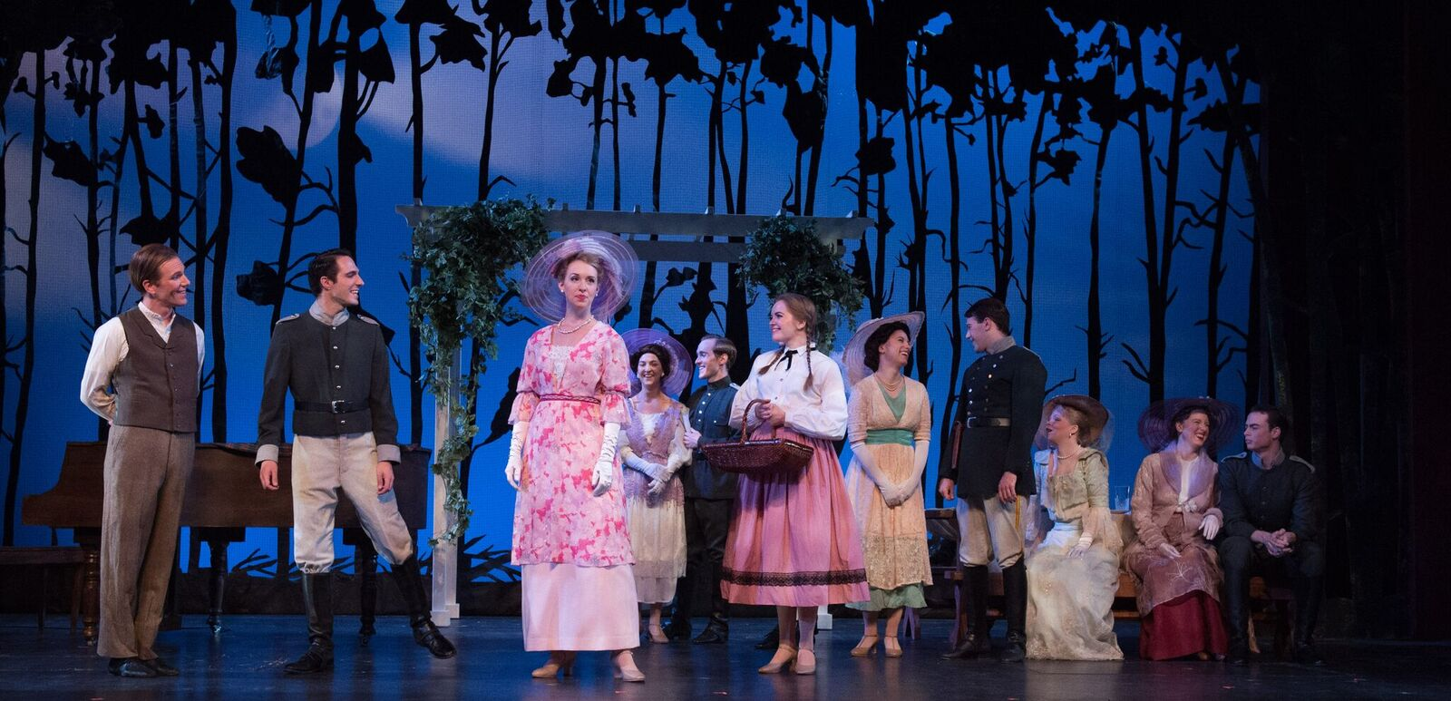 "Scene for Novello's ""Dancing Years"" at the Ohio Light Opera. (Photo: Matt Dilyard)"