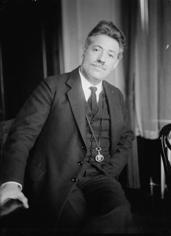 Composer and violinist Fritz Kreisler.