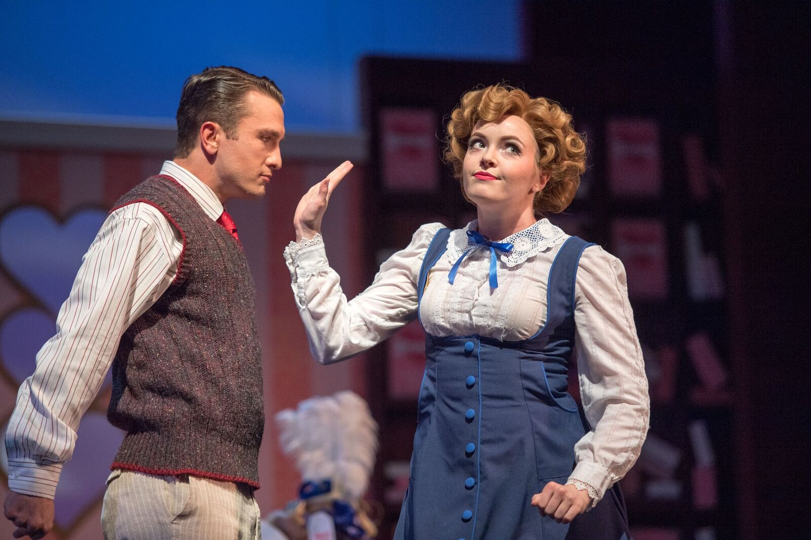 "Scene from ""Have a Heart"" at Ohio, with a dazzling Stephen Faulk. (Photo: Matt Dilyard)"
