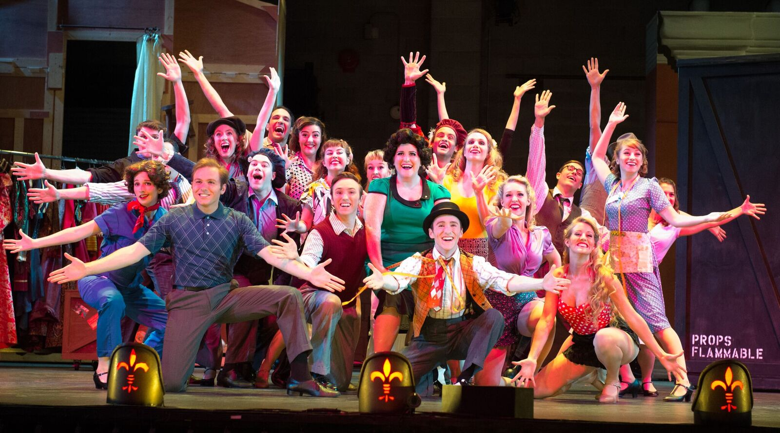 "The full Ohio Light Opera cast for ""Kiss Me, Kate."" (Photo: Matt Dilyard)"