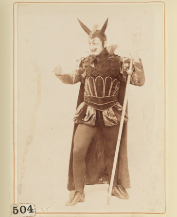 "The devil in the original 1866 production of ""The Black Crook."""