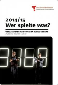 The latest issue of the eyra book of the Bundesverband der Theater und Orchester, with the 2014/15 statistic.