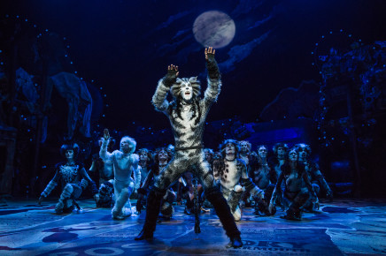 "Wooden Cut-Outs & Selfies: The Revival Of ""Cats"" On Broadway"