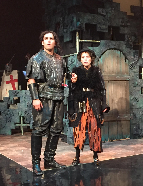 """Scene from the 2016 production of """"Croquefer, ou le dernier des Paladins."""" (Photo: Opera della Luna)"""