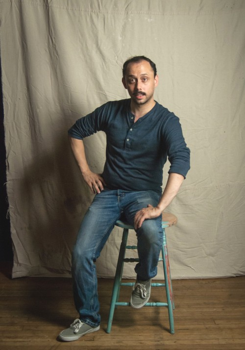 Playwright Joshua William Gelb. (Photo: Josh Luxenberg)