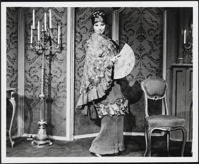 "Barbra Streisand as Fanny Brice in ""Funny Girl,"" 1968. (Photo: Museum of the City of New York, Gift of Frank Goodman)"