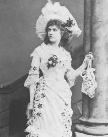 "Marion Hood as Mabel in ""The Pirates of Penzance."""