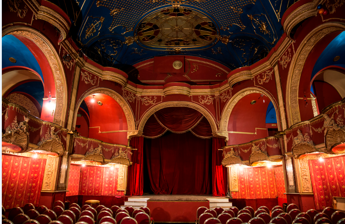 The stage of the Kalman Theatrum in Budapest. (Photo: Budapest Operetta Theater)