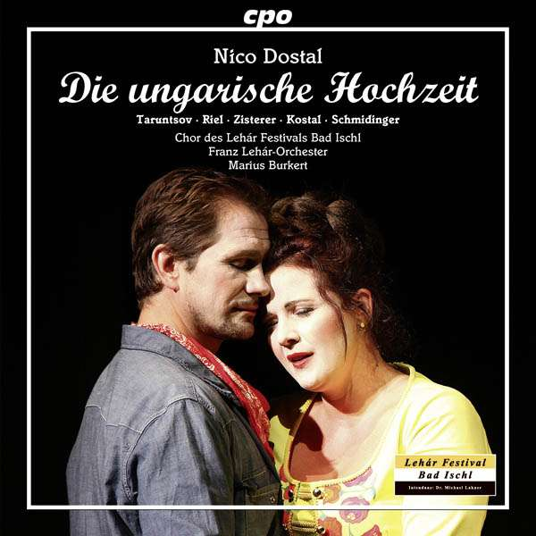 "Cover for the cpo version of ""Ungarische Hochzeit"" from Bad Ischl."