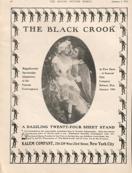 "Double Treat: ""The Black Crook"" From New York and London"