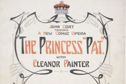"Victor Herbert's ""Princess Pat"" (1915) Revived In New York"