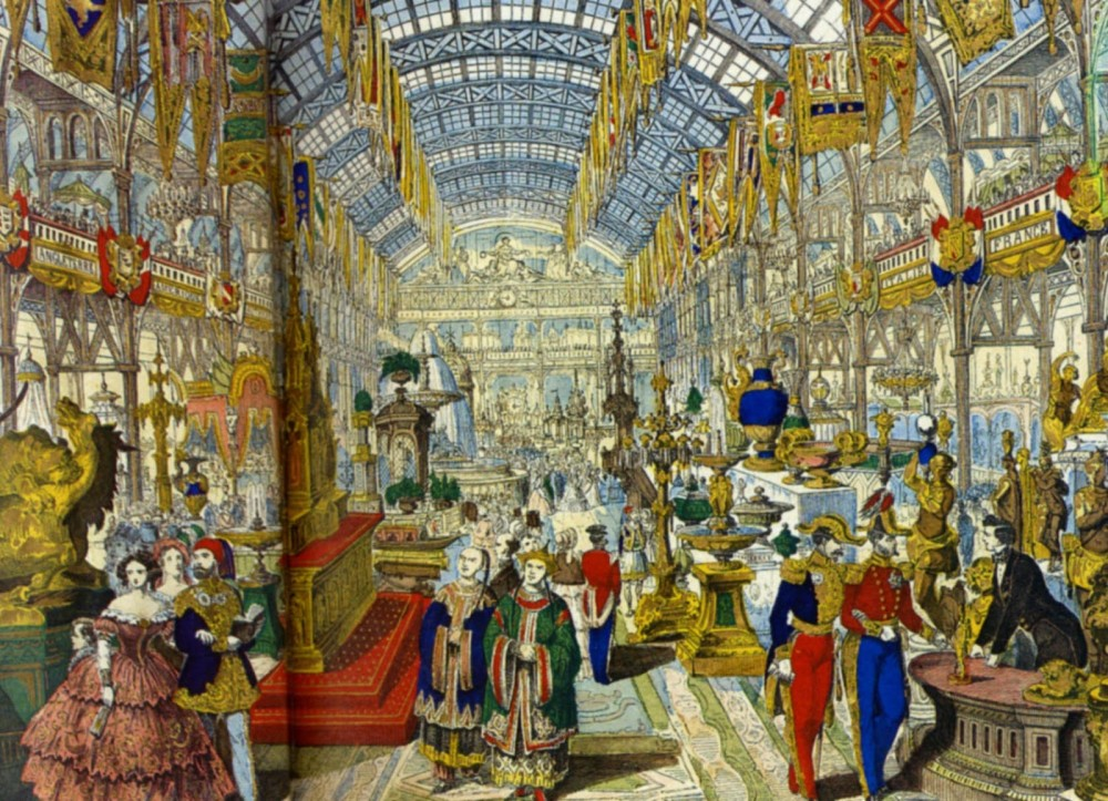 The World Fair in Paris in 1855.
