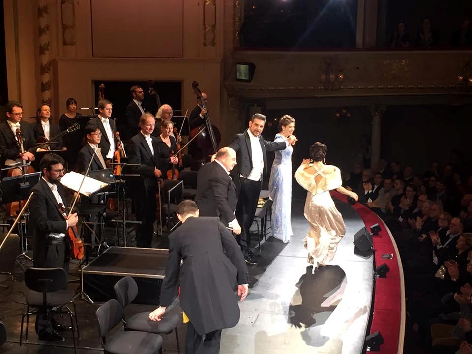 "Curtain calls for ""Marinka"" at the Komische Oper Berlin. (Photo: Private)"