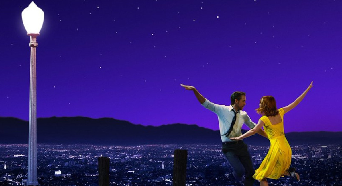 "Ryan Gosling and Emma Stone in ""La La Land."" (Photo: Lionsgate)"