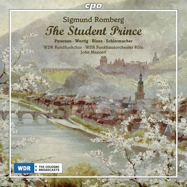 "Cover of the cpo recording of ""The Student Prince."""