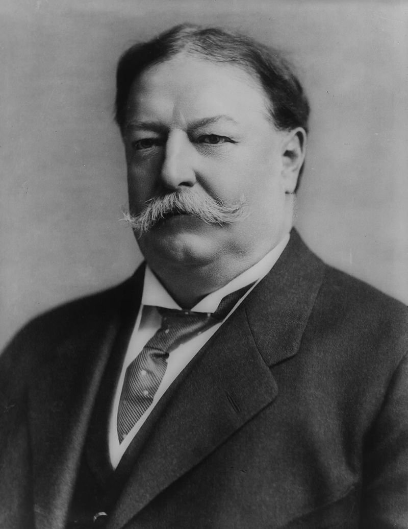 President William Howard Taft in 1908.