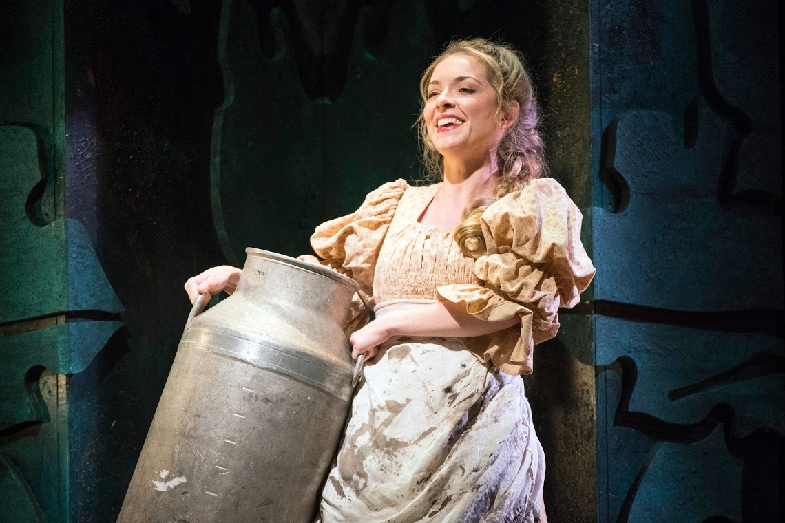 Lauren Zolezzi as the milk maid Patience. (Photo: Richard Hubert Smith)