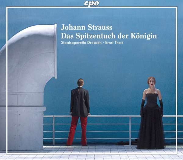 "The cpo release of ""Spitzentuch der Königin,"" 2008."